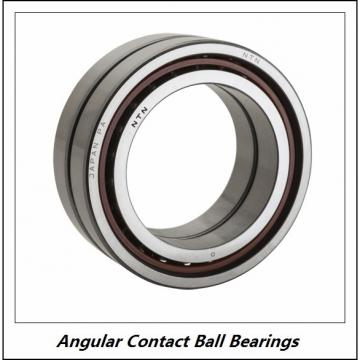 0.591 Inch | 15 Millimeter x 1.378 Inch | 35 Millimeter x 0.626 Inch | 15.9 Millimeter  NSK 3202J  Angular Contact Ball Bearings