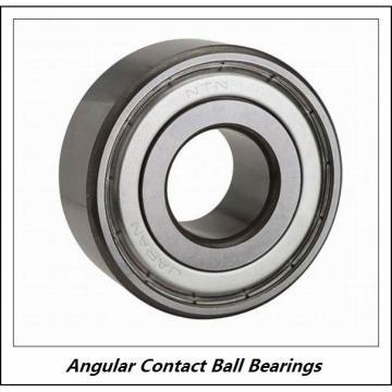 0.394 Inch | 10 Millimeter x 1.181 Inch | 30 Millimeter x 0.563 Inch | 14.3 Millimeter  NSK 3200B-2RSTN  Angular Contact Ball Bearings