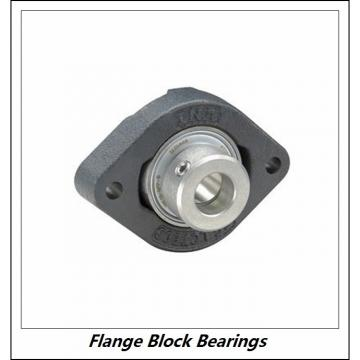 LINK BELT KFBS222DC  Flange Block Bearings