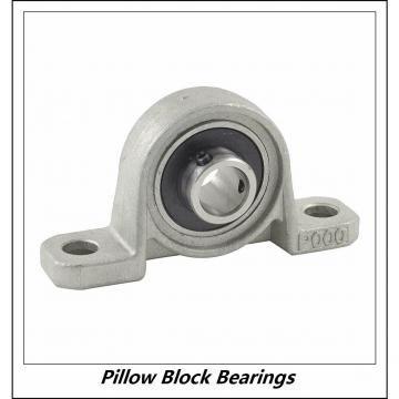 2.953 Inch | 75 Millimeter x 3.62 Inch | 91.948 Millimeter x 3.252 Inch | 82.6 Millimeter  QM INDUSTRIES QMPF15J075SEO  Pillow Block Bearings