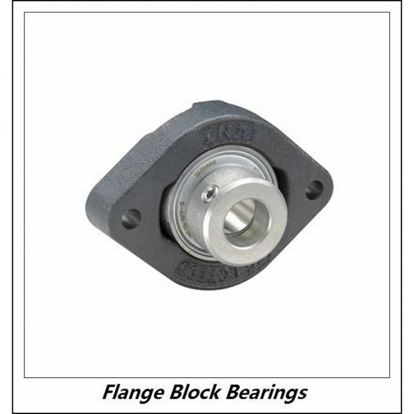 LINK BELT F3U216NK75  Flange Block Bearings #4 image