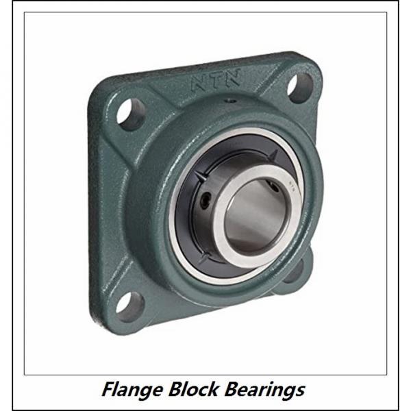 LINK BELT F3U216NK75  Flange Block Bearings #2 image