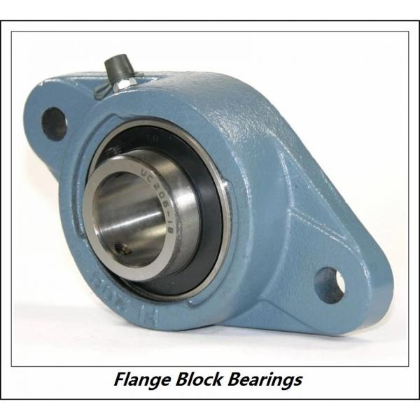 LINK BELT F3U216NK75  Flange Block Bearings #3 image